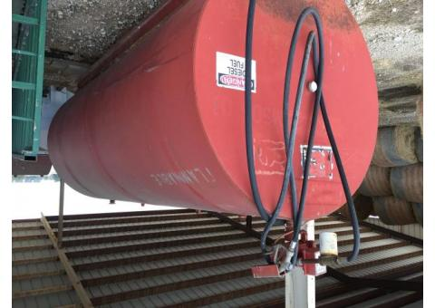 1000 gallon Diesel tanks