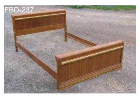 ART DECO WATERFALL DOUBLE BED