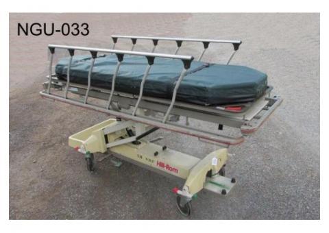 Hospital Gurney or  bed.