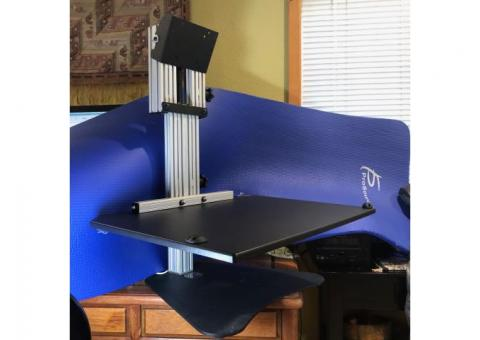 Adjustable Height Desktop Workstation